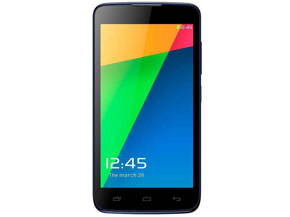 Смартфон Micromax Q383 синий 5 4 Гб Wi-Fi GPS 3G смартфон micromax a107 серый 4 5 8 гб wi fi gps 3g