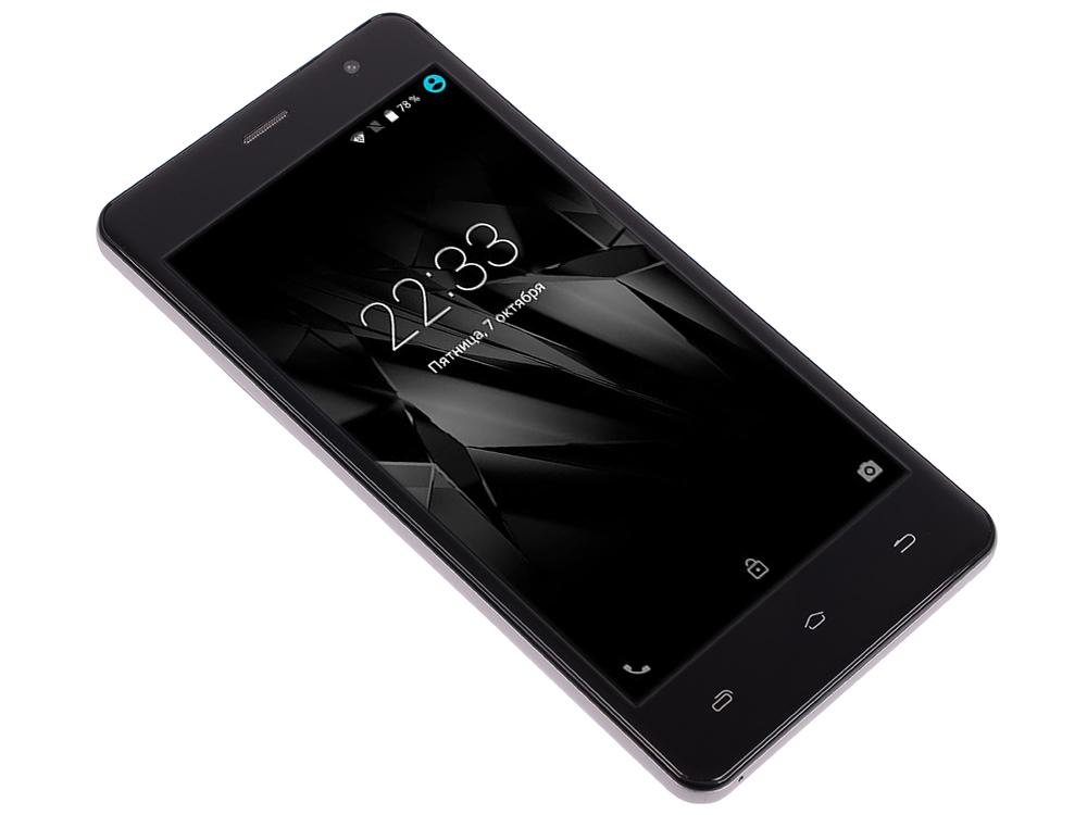 Смартфон Micromax Q351 серый 5 8 Гб GPS Wi-Fi 3G смартфон micromax bolt q346 lite 3g 8gb blue