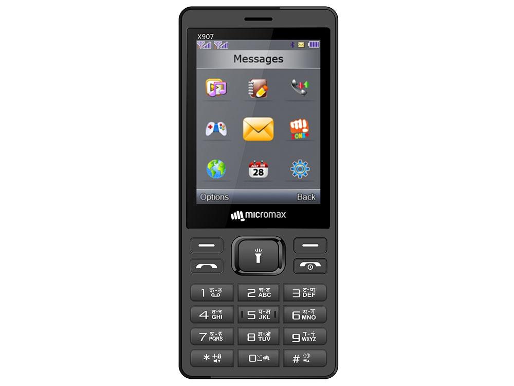 Мобильный телефон Micromax X907 grey 2.8 мобильный телефон micromax bolt q379 черный