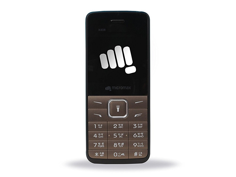 Мобильный телефон Micromax X408 Warm Grey (бежево-серый, 1.77, 32 Мб)