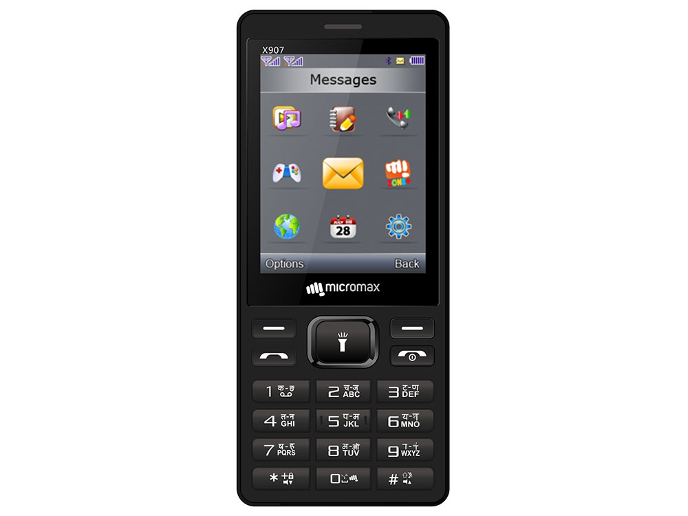 Мобильный телефон Micromax X907 черный 2.8 мобильный телефон micromax x940 черный