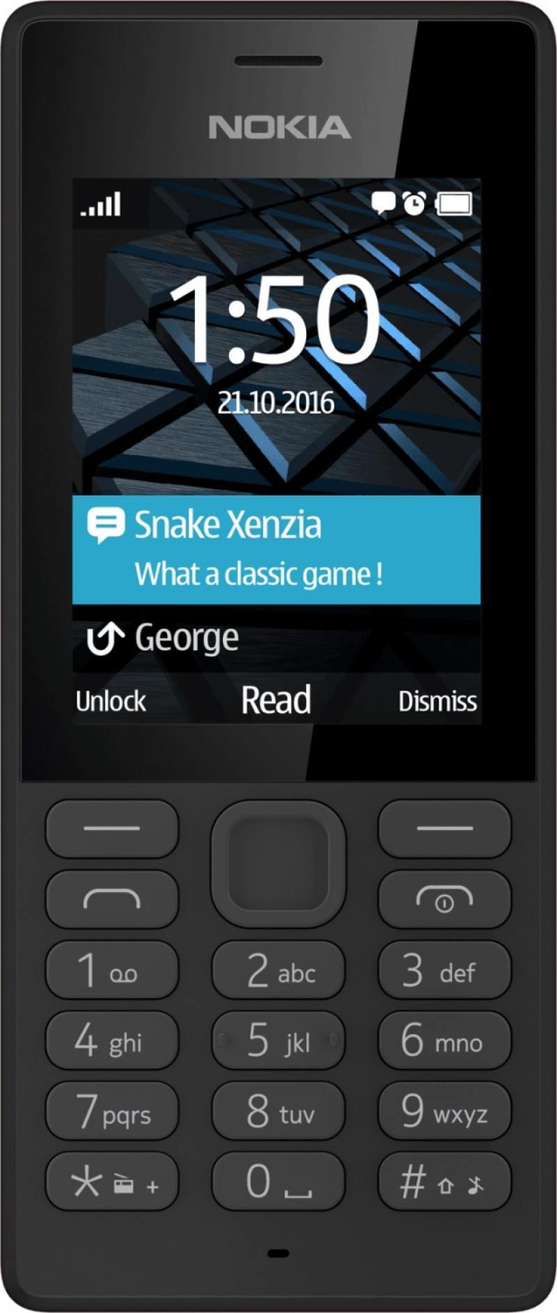 Мобильный телефон NOKIA 150 DS черный 2.4 nokia 6700 classic illuvial