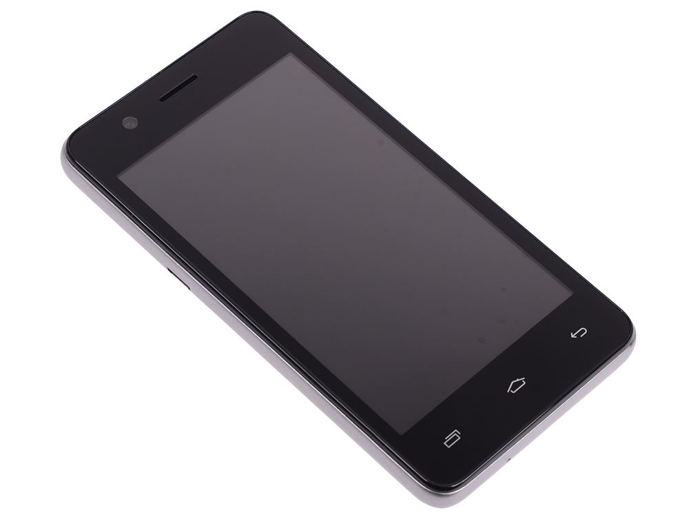 Смартфон Micromax Q326 Grey 4 Гб Wi-Fi GPS 3G смартфон micromax a107 cosmic grey 4 5 8 гб wi fi gps 3g 4 5 2sim 8гб gps wi fi 3g android 5 0 2000 ма ч