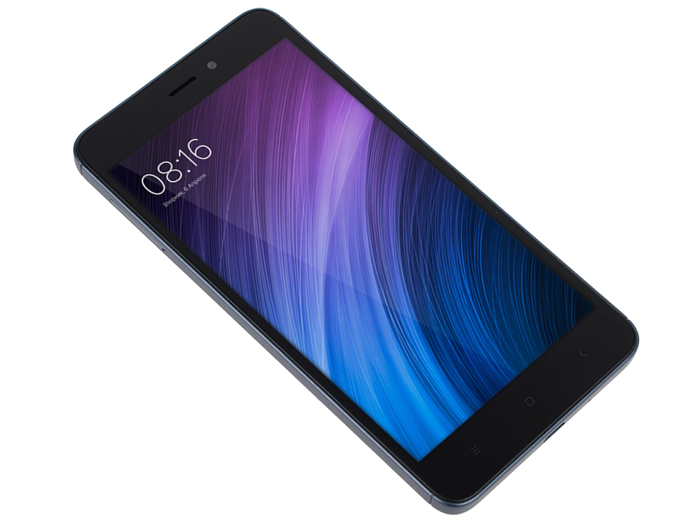 Смартфон Xiaomi Redmi 4A серый 5 16 Гб LTE Wi-Fi GPS 3G смартфон meizu m5c синий 5 16 гб lte wi fi gps 3g