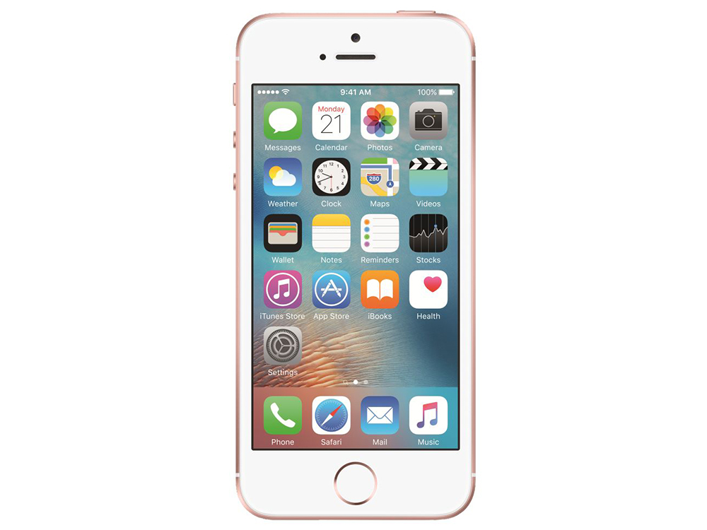 Смартфон Apple iPhone SE 32Gb Rose Gold MP852RU/A apple iphone 5s 32gb a1530