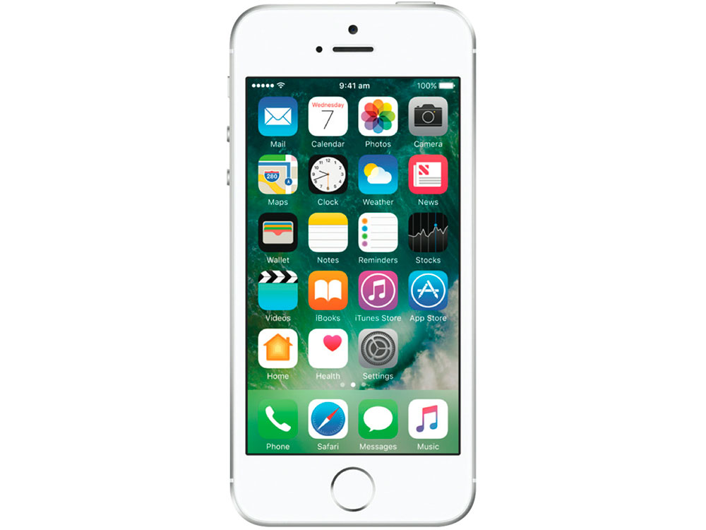 Смартфон Apple iPhone SE 128Gb Silver MP872RU/A смартфон apple iphone 7 128gb silver mn932ru a
