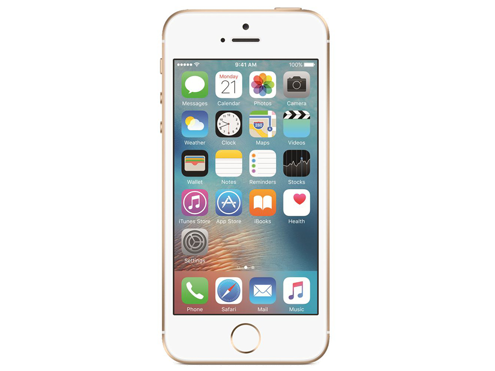 Смартфон Apple iPhone SE 128Gb Gold MP882RU/A смартфон apple iphone 7 128gb silver mn932ru a