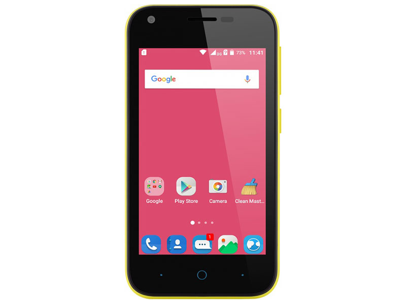Смартфон ZTE Blade L110 Yellow Spreadtrum SC7731G (1.2)/4 (800x480)/1Gb/8Gb/3G/5Mp+2Mp/Android 5.1