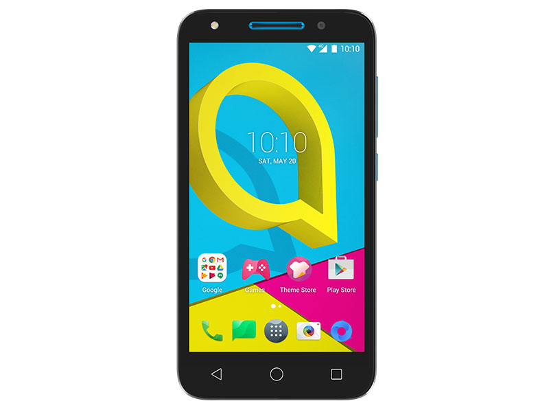 Смартфон Alcatel U5 4G (5044D) синий MT6737M (1,1)/1Gb/8Gb/5 (854x480)/5Mp+2Mp/3G/4G/Android 6.0 смартфон alcatel idol 5 4g ds metal blackb 6058d