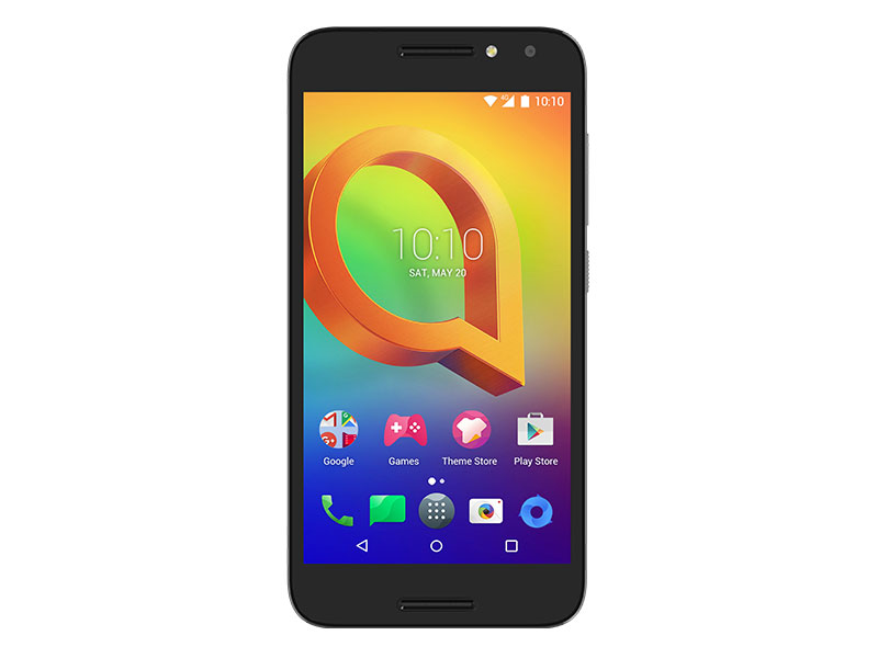 Смартфон Alcatel A3 5046D Черный MediaTek MT6737/2 Гб/16 Гб/5 (1280x720)/DualSim/3G/4G/BT/Android 6 смартфон bqs 5050 strike selfie grey mediatek mt6580 1 3 8 gb 1 gb 5 1280x720 dualsim 3g bt android 6 0