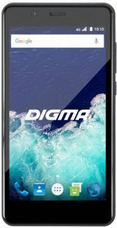 Смартфон Digma VOX S507 4G VS5022PL Black Spreadtrum SC9832  (1.2)/8 Gb/1 Gb/5'' (1280x720)/DualSim/3G/4G/BT/Android 6.0 автомагнитола videovox vox 100 black