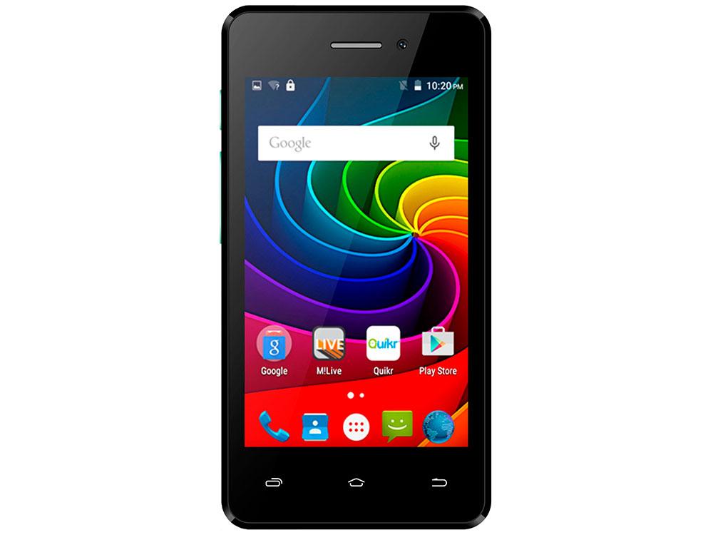 Смартфон Micromax Q301 Black 3.9