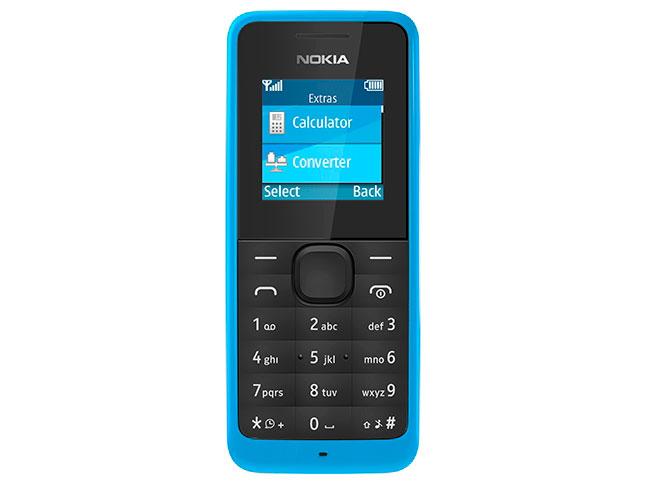 Мобильный телефон Nokia 105 CYAN мобильный телефон nokia 3100