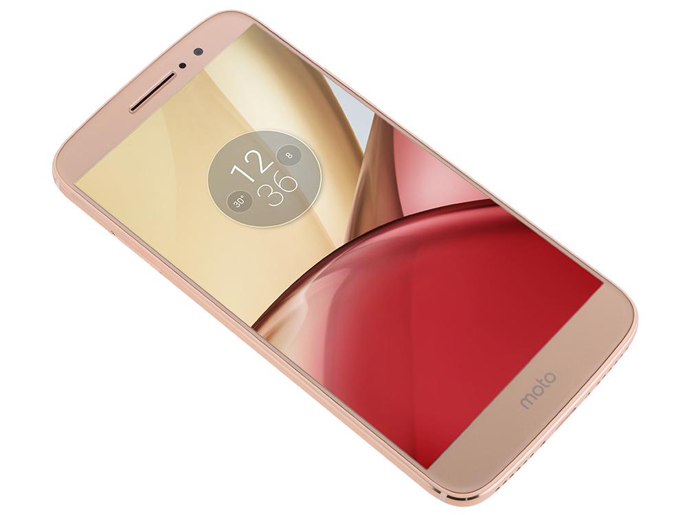 "Смартфон Motorola Moto M XT1663 5.5"" FullHD (PA5D0072RU) MediaTek Helio P10/3Gb/32Gb/Dual SIM/S"