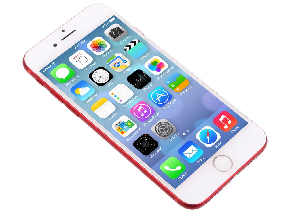Смартфон Apple iPhone 7 красный 4.7 256 Гб NFC LTE Wi-Fi GPS 3G MPRM2RU/A смартфон zte blade v8 золотистый 5 2 32 гб lte wi fi gps 3g bladev8gold