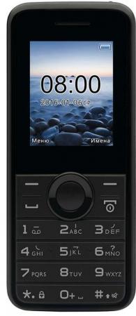 Мобильный телефон Philips E106 Black 1.77 (160x128)/DualSim/microSD мобильный телефон philips e116 black