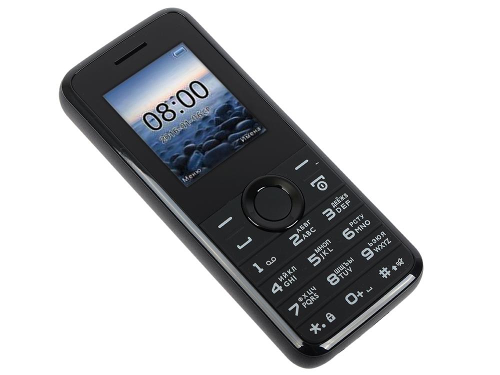 Мобильный телефон Philips E106 Black 1.77 (160x128)/DualSim/microSD мобильный телефон fly ff178 32mb black