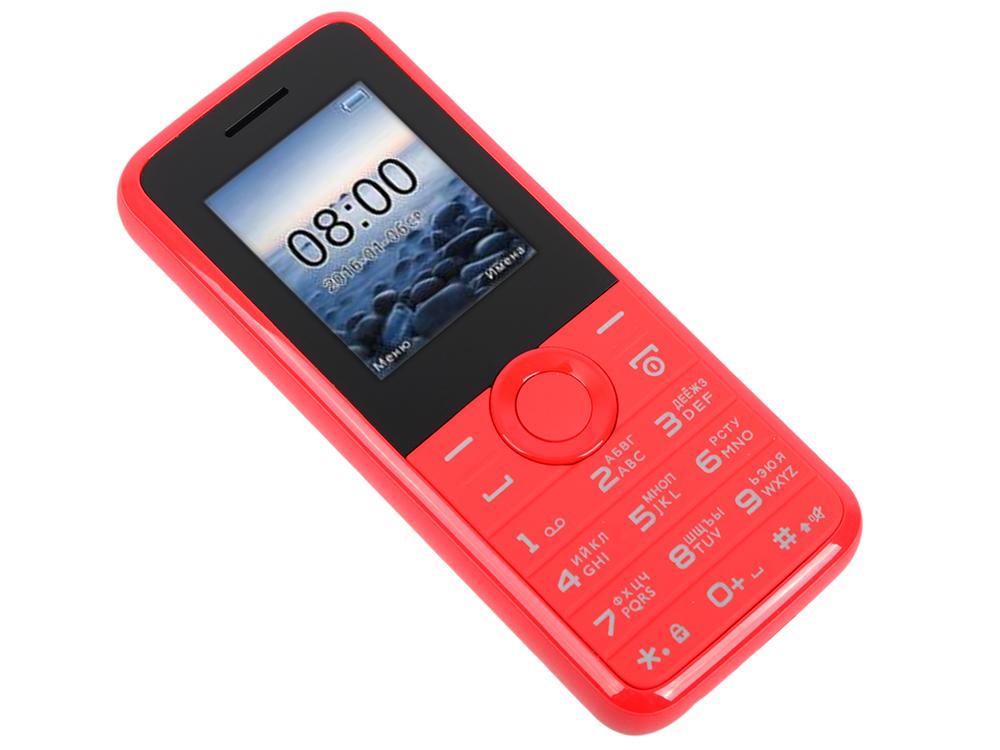 Мобильный телефон Philips E106 Red 1.77 (160x128)/DualSim/microSD мобильный телефон philips e106 черный