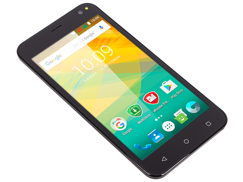 Смартфон Prestigio Wize NV3 (PSP3537DUOBLACK) Dual sim 5.0