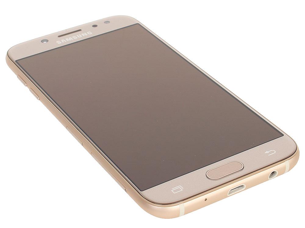 Смартфон Samsung SM-J530FZDNSER Galaxy J5 (2017) Gold смартфон samsung galaxy j7 2016 sm j710fn gold