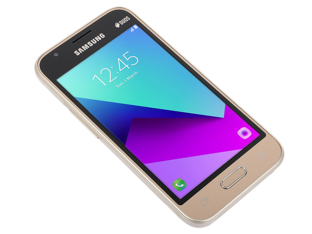 Смартфон Samsung SM-J106FZDDSER Galaxy J1 mini prime Gold