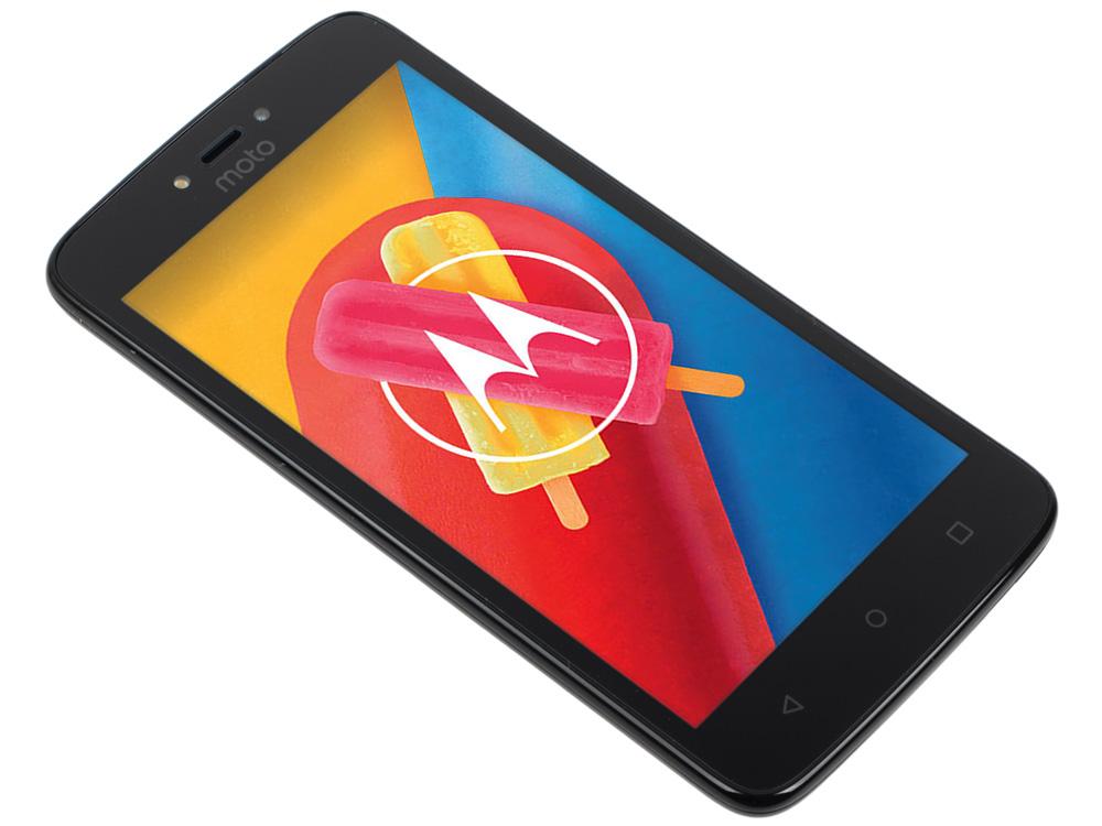 Смартфон Motorola MOTO C XT1754 5 FWVGA/ 854х480/ MediaTek MT6737M 1,1Ghz/ 1GB/ 16GB/ 4G LTE/ WiFi/ смартфон motorola moto c xt1754 16gb черный pa6l0083ru