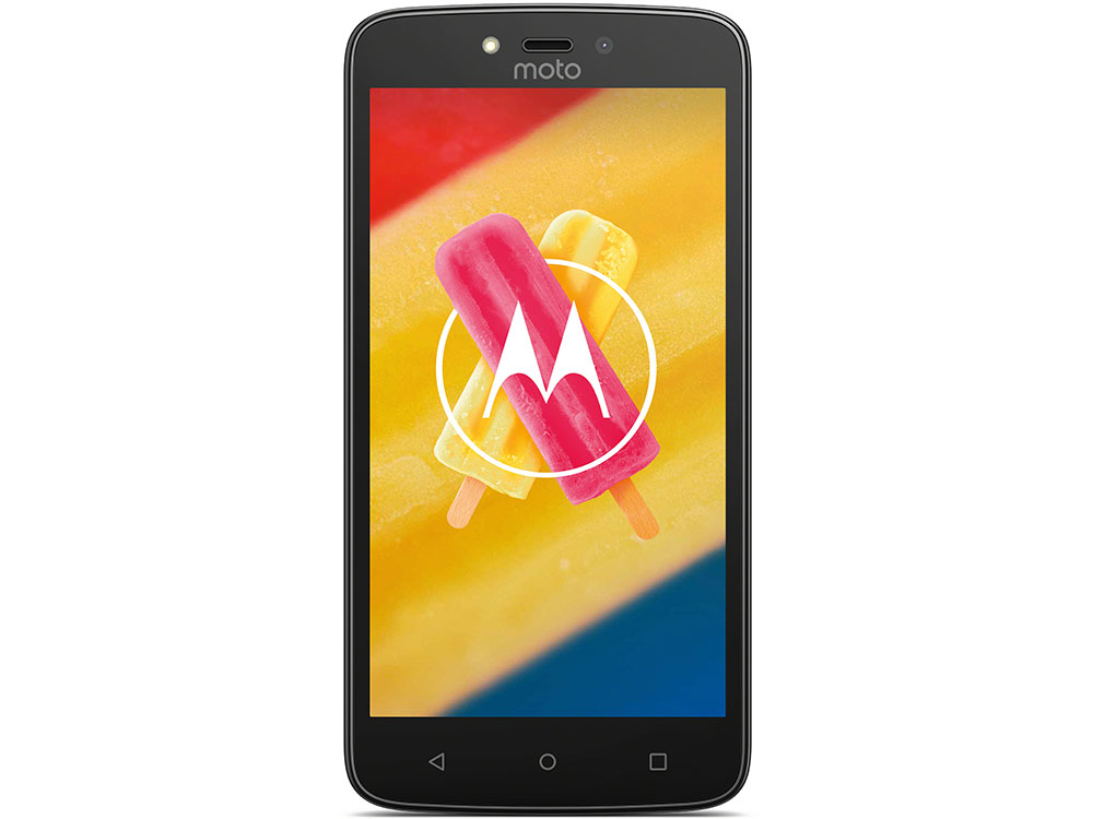 Смартфон Motorola MOTO C Plus XT1723 5 HD IPS/1280х720/MediaTek MT6737 1.3Ghz/1GB/16GB/4G LTE/WiFi/BT/SD/8MP/Android 7.0/Metallic Cherry смартфон motorola moto c xt1754 16gb черный pa6l0083ru