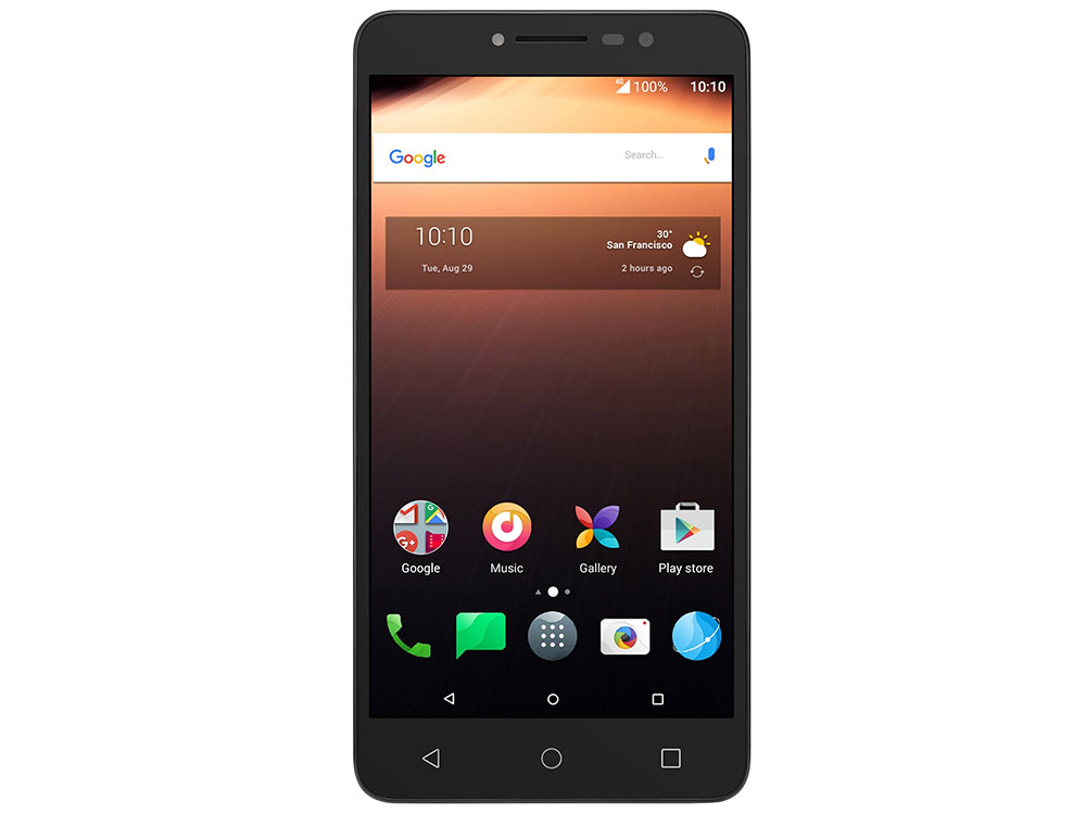 Смартфон Alcatel A3 XL 9008D Sideral Gray+Silver MediaTek MT8735B/1 Гб/8 Гб/6 (1280x720)/DualSim/3G/4G/8Mpix+5Mpix/BT/Android 7.0 смартфон alcatel u5 3g 4047d white gray