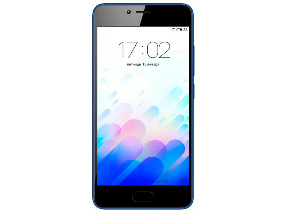 Смартфон Meizu M5c Blue 16 GB MediaTek MT6767/2GB/16GB/5 1280x720/Dual SIM/LTE/WiFi/BT/8MP+5MP/Android 6.0 смартфон meizu m5 note белый золотистый 5 5 16 гб lte wi fi gps 3g