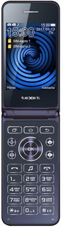 TEXET TM-400 Мобильный телефон цвет синий