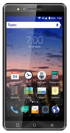Смартфон Vertex Impress Open графитовый 5 8 Гб Wi-Fi GPS 3G VOPNGRP смартфон vertex impress genius gold