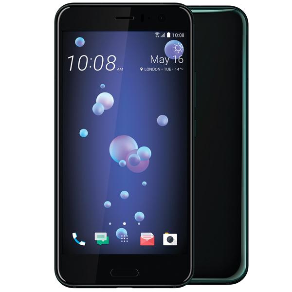 Смартфон HTC U11 128Gb Black Qualcomm Snapdragon 835/6 Гб/128 Гб/5.5 2560x1440/12Mp+16Mp/DualSim/3G/LTE/BT/Android 7.1 смартфон fly fs523 cirrus 16 lte black