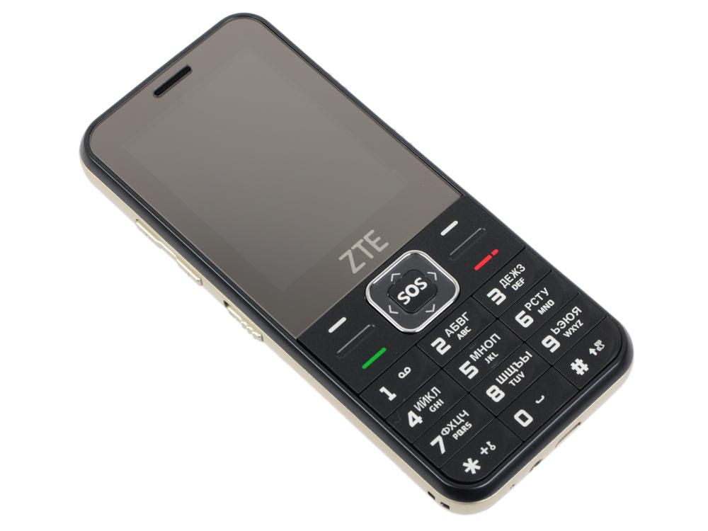Мобильный телефон ZTE N1 Black 2.4 (240x320)/DualSim/BT/microSD мобильный телефон zte n1 золотистый