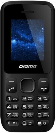 Мобильный телефон Digma A101 2G Linx черный моноблок 1.8 128x160 BT GSM900/1800 сотовый телефон digma linx a177 2g