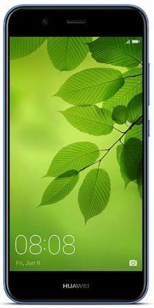 Смартфон Huawei Nova 2 Blue (51091TNT) HiSilicon Kirin 659 (2.34) / 4GB / 64GB / 5 (1920x1080) / 3G / 4G LTE / 12Mp+8Mp, 20Mp Cam/BT/Android 7.0 смартфон huawei nova серебристый 51090xla