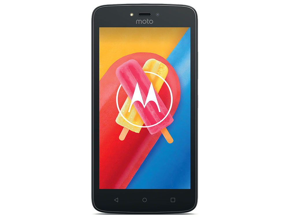 Смартфон Motorola MOTO C XT1750 5  FWVGA/854х480/MediaTek MT6737M 1,1Ghz/1GB/8GB/3G/WiFi/BT/SD/5MP/Android 7.0/Starry Black