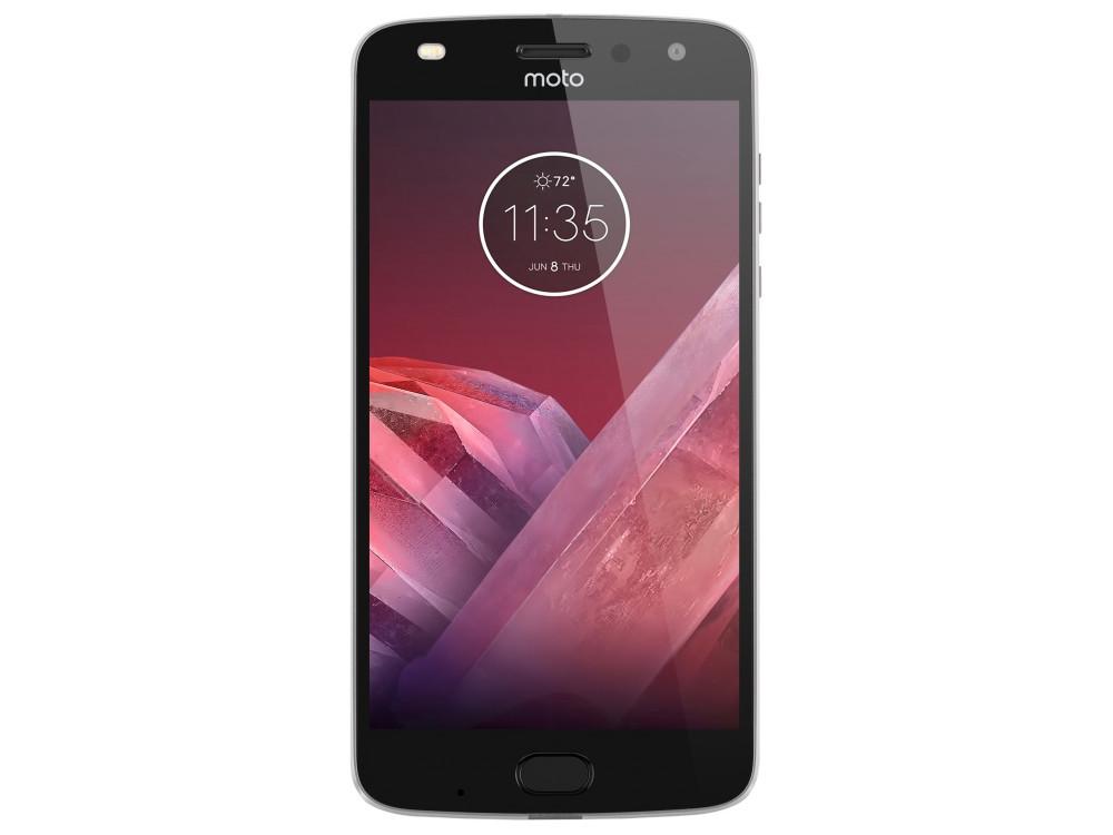 купить KIT Смартфон Motorola MOTO Z2 Play  XT1710 Lunar Grey + WoodPanel ASMCAPCHAHEU, 5.5