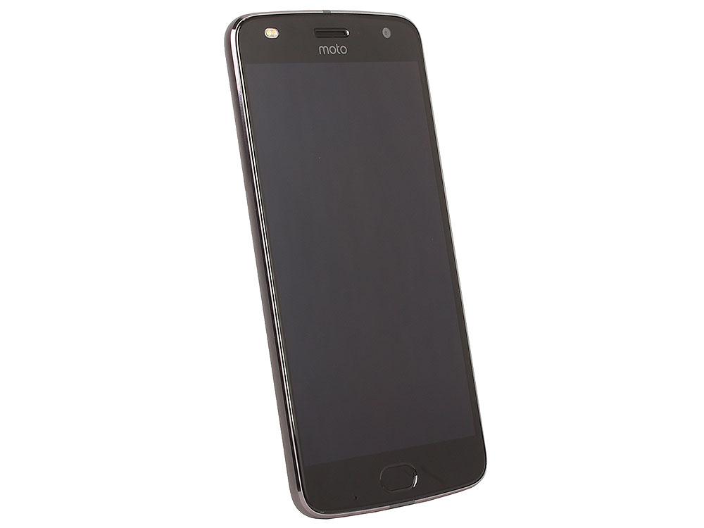 KIT Смартфон Motorola MOTO Z2 Play XT1710 Lunar Grey + WoodPanel ASMCAPCHAHEU, 5.5 FullHD/1920х1080/Qualcomm Snapdragon 626/4GB/64GB/Dual SIM/SD/LTE oem 10 144 430 na 626 sma walkie talkie baofeng 5r b6 px 888k uvd1p na 626