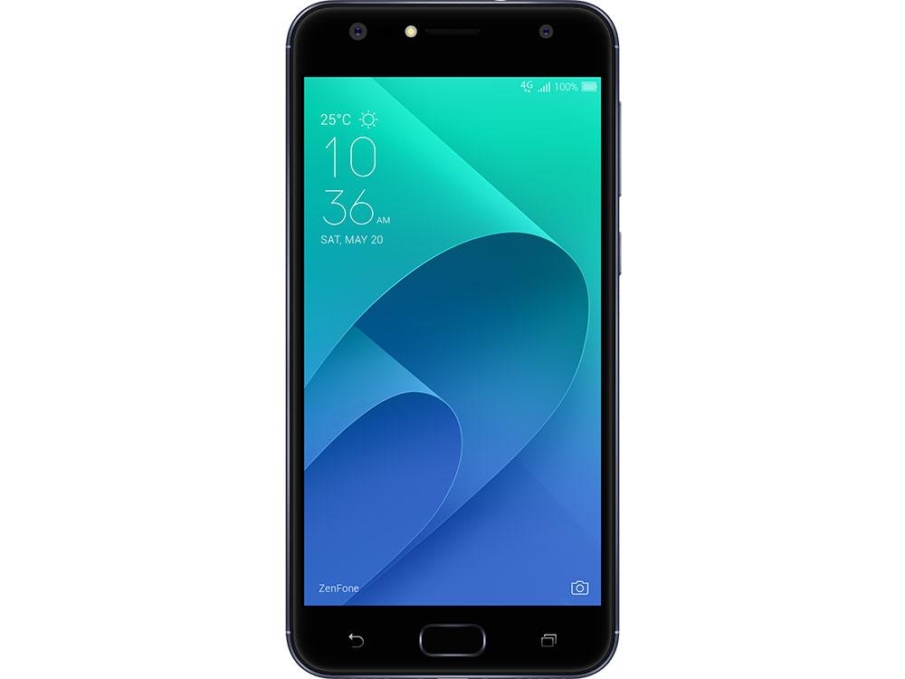Смартфон Asus Zenfone 4 Selfie ZD553KL Black (ZD553KL-5A102RU) Snapdragon 430 (1.4)/4GB/64GB/MicroSD/5.5(1280x720)/Dual sim/LTE/GPS/Cam20Mp+8Mp/3000mAh/Android 7.0 смартфон asus zenfone 4 selfie zd553kl золотистый 5 5 64 гб lte wi fi gps 3g 90ax00l2 m01500