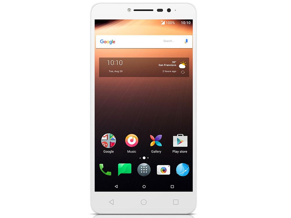 Смартфон Alcatel A3 XL 9008D White+Silver MediaTek MT8735B(1.3)/2GB/8GB/6 1280x720/2 Sim/3G/LTE/BT/Wi-Fi/GPS/Android 7