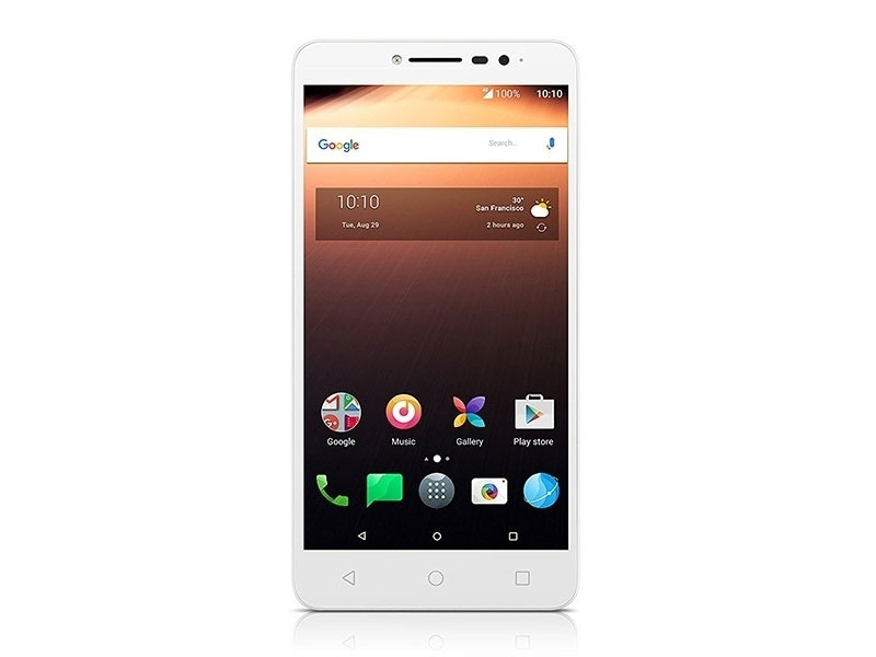 Смартфон Alcatel A3 XL 9008D White+Blue MediaTek MT8735B(1.3)/2GB/8GB/6 1280x720/2 Sim/3G/LTE/BT/Wi-Fi/GPS/Android 7 смартфон highscreen fest xl pro blue