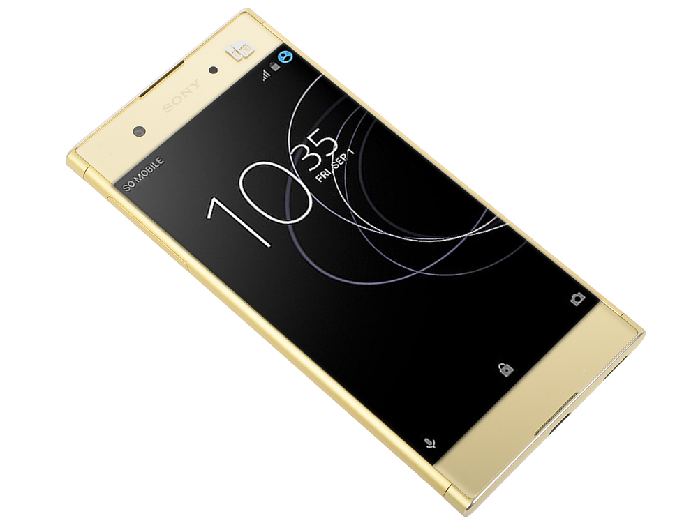 Смартфон Sony Xperia XA1 Plus G3412 Gold MediaTek Helio P20 (2.3)/5.5'' (1920x1080)/4Gb/32Gb/3G/4G/23Mp+8Mp/Android 7.0 смартфон sony xperia x rose gold 4g lte f5121