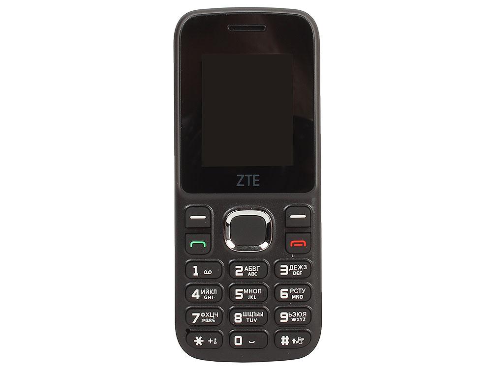 Мобильный телефон ZTE R550 Black/Blue 4 Mb/1.8'' (128x160)/DualSim/microSD/2G/BT мобильный телефон zte n1 золотистый