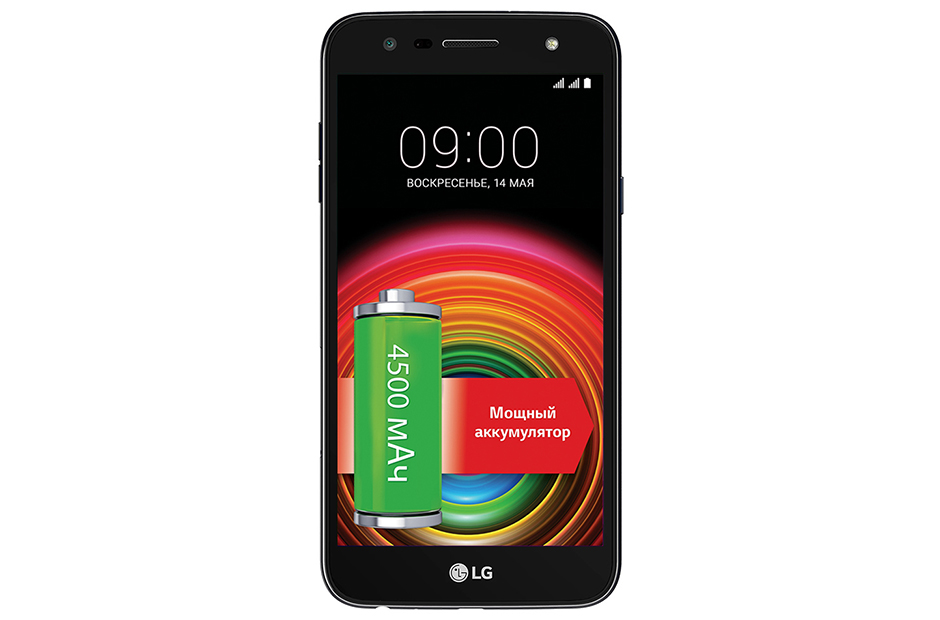 Смартфон LG X Power 2 (M320) Blue MediaTek MT6750/2Gb/16Gb/5.5 (1280x720)/3G/4G/13Mp+5Mp/Android 7.0 смартфон samsung galaxy s8 4g 128gb black brilliant
