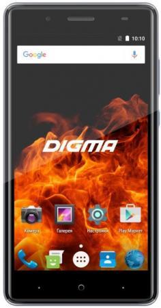Смартфон Digma VOX FIRE 4G VS5037PL Grey Spreadtrum SC9832 (1.3)/8 Gb/1 Gb/5'' (1280x720)/DualSim/3G/4G/BT/Android 7.0