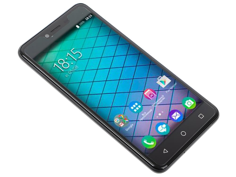 Смартфон BQ-5059 Strike Power (Black) MediaTek MT6580 (1.3)/1GB/8GB/5.0 1280х720 IPS 2.5D/2Sim/13Mp, 8Mp Cam/Android 7.0