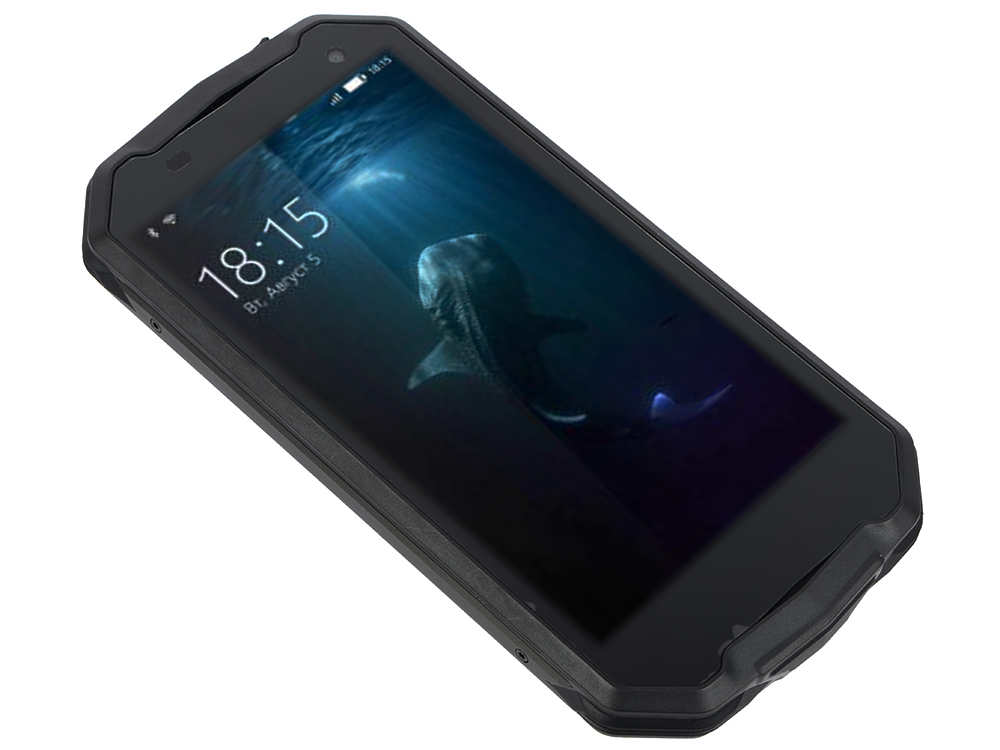 Смартфон BQ-5033 Shark (Black) MediaTek MT6580 (1.3)/1GB/8GB/5.0 1280х720 IPS/2Sim/8Mp, 8Mp Cam/IP65/Android 7.0 планшет prestigio multipad grace 3118 pmt31183gccis black mediatek mt8321 1 2 ghz 1024mb 8gb wi fi bluetooth cam 8 0 1280x800 android