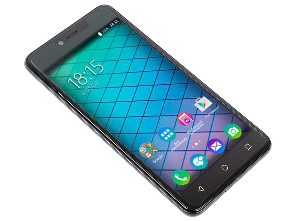 Смартфон BQ-5059 Strike Power (Grey) MediaTek MT6580 (1.3)/1GB/8GB/5.0 1280х720 IPS 2.5D/2Sim/13Mp, 8Mp Cam/Android 7.0