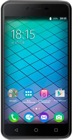 Смартфон BQ-5059 Strike Power (Grey) MediaTek MT6580 (1.3)/1GB/8GB/5.0 1280х720 IPS 2.5D/2Sim/13Mp, 8Mp Cam/Android 7.0 смартфон bq 5510 strike power max 4g black mediatek mt6737 1 3 1gb 8gb 5 5 1280х720 ips 4g lte 2sim 13mp 8 mp cam android 7 0