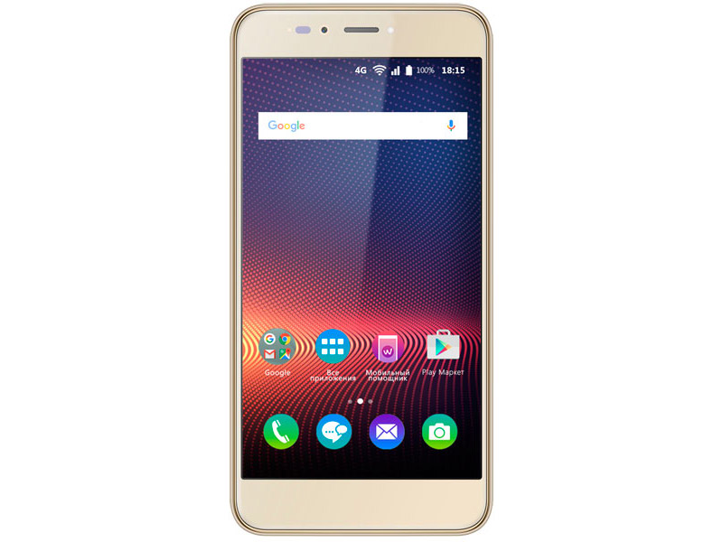 "Смартфон BQ 5504 STRIKE SELFIE MAX gold brushed 5.5"" IPS/720x1280/4x1.3GHz/3+16Gb/LTE/2Sim/16+13Mp/3 конверт меховой kaiser dublas red natural white"